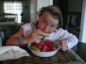 watermelon from Herode's farm